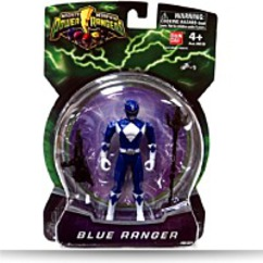 Mighty Morphin 4 Inch Action Figure Blue