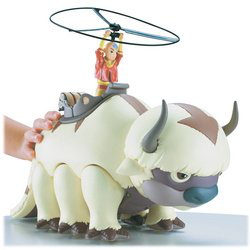 Avatar Air Launching Aang And Appa