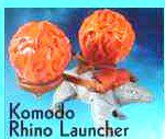 Mc Donalds Happy Meal The Last Airbender Komodo Rhino Launcher Toy #8